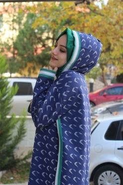 LYSA STUDİO SİM ŞERİTLİ LACİVERT TAKIM